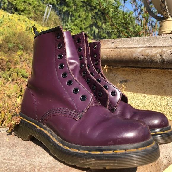 Dr. Martens Shoes | Purple Doc Martens